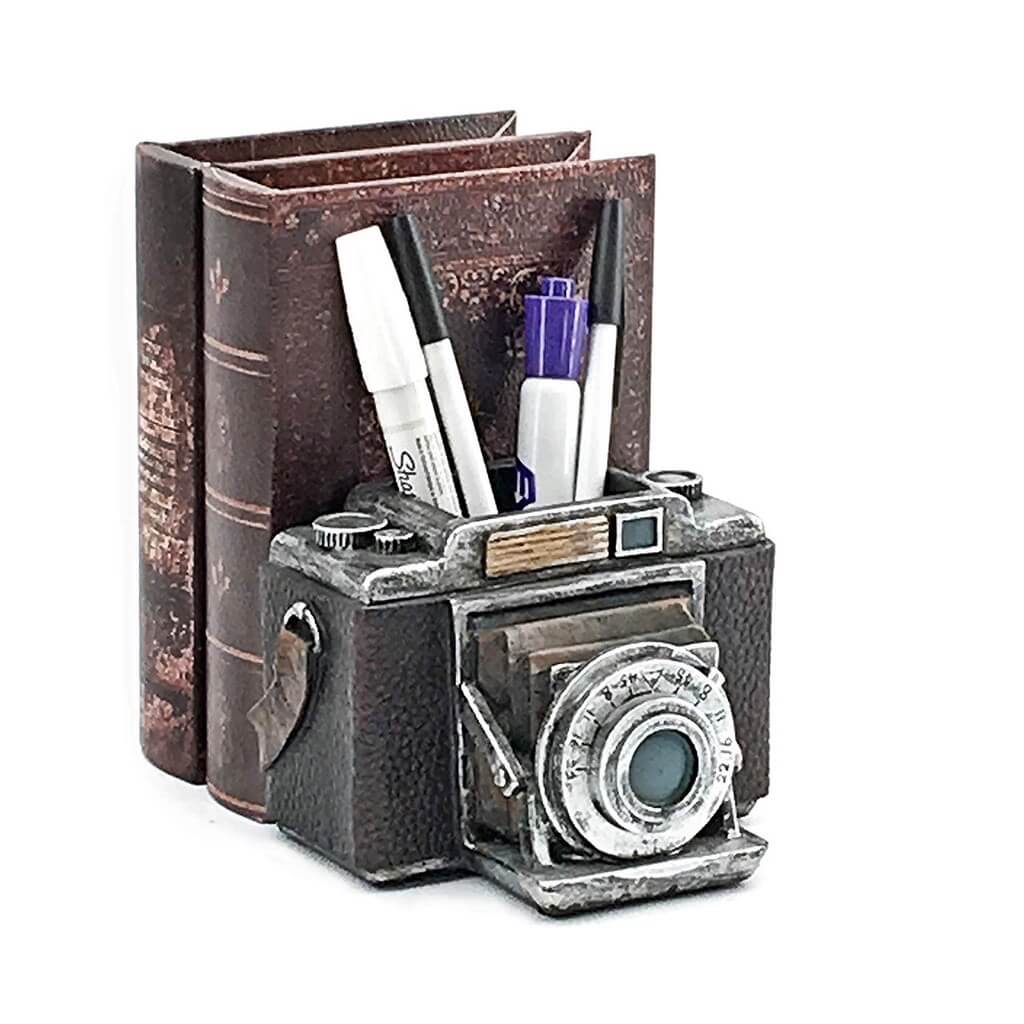 Camera Pen Pencil Holder