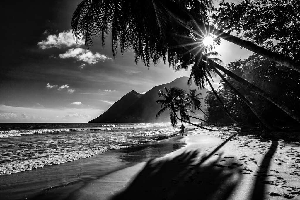 Jean-Jacques Mattei - beach silhouette