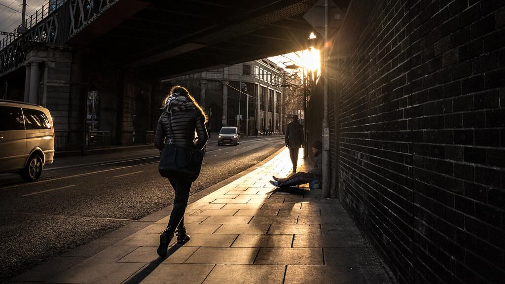 Giuseppe Milo - Gardiner street - Dublin, Ireland - Color street photography
