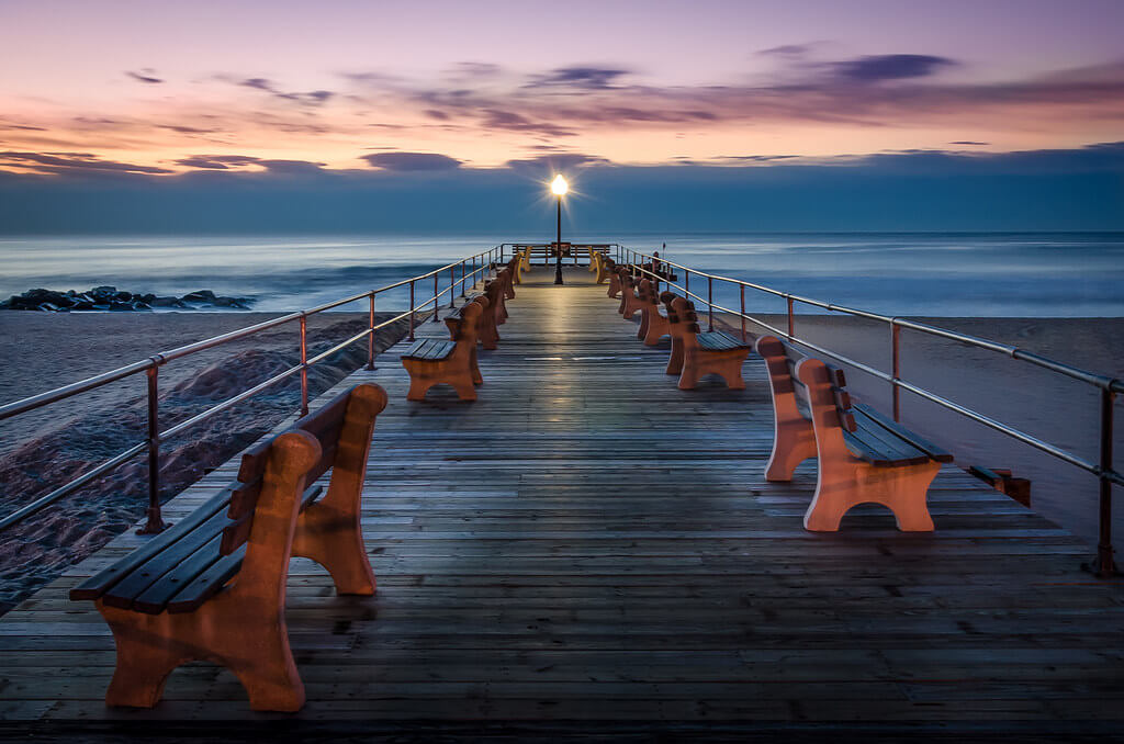 Steve Stanger - sunrise at the pier
