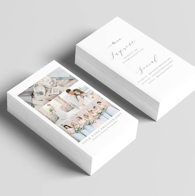MandyFordPhotography - Fine-Art Wedding Photography Business Card
