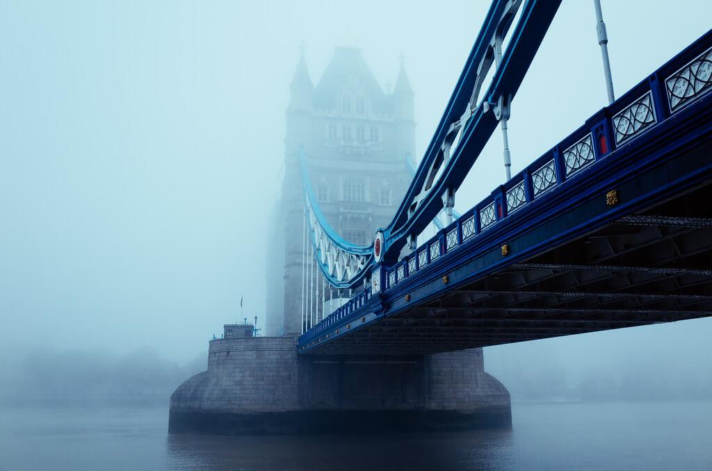 Foggy Tower Bridge
