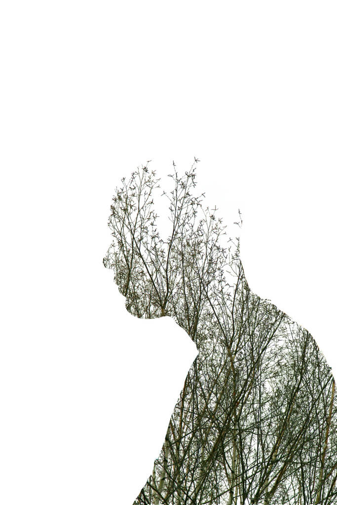 Pedro Hespanha - double exposure white background