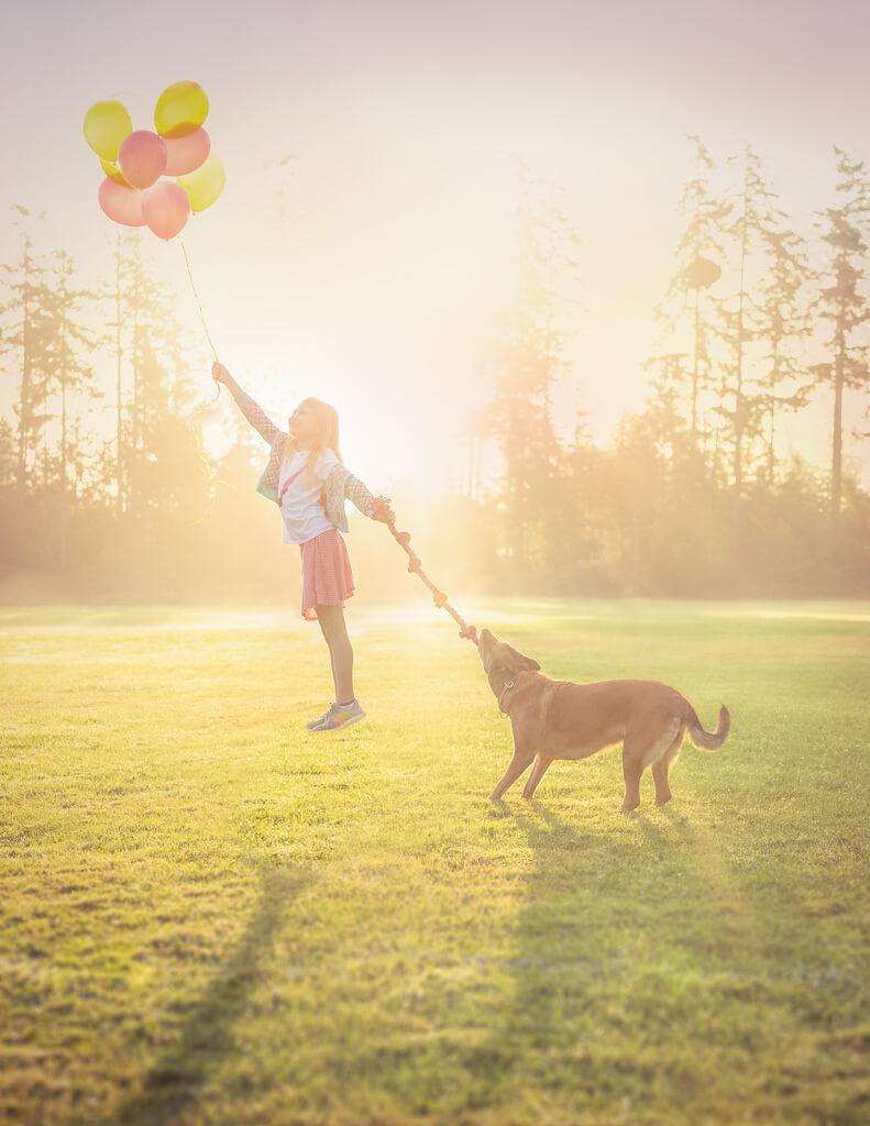 Katie McLellan levitation balloons