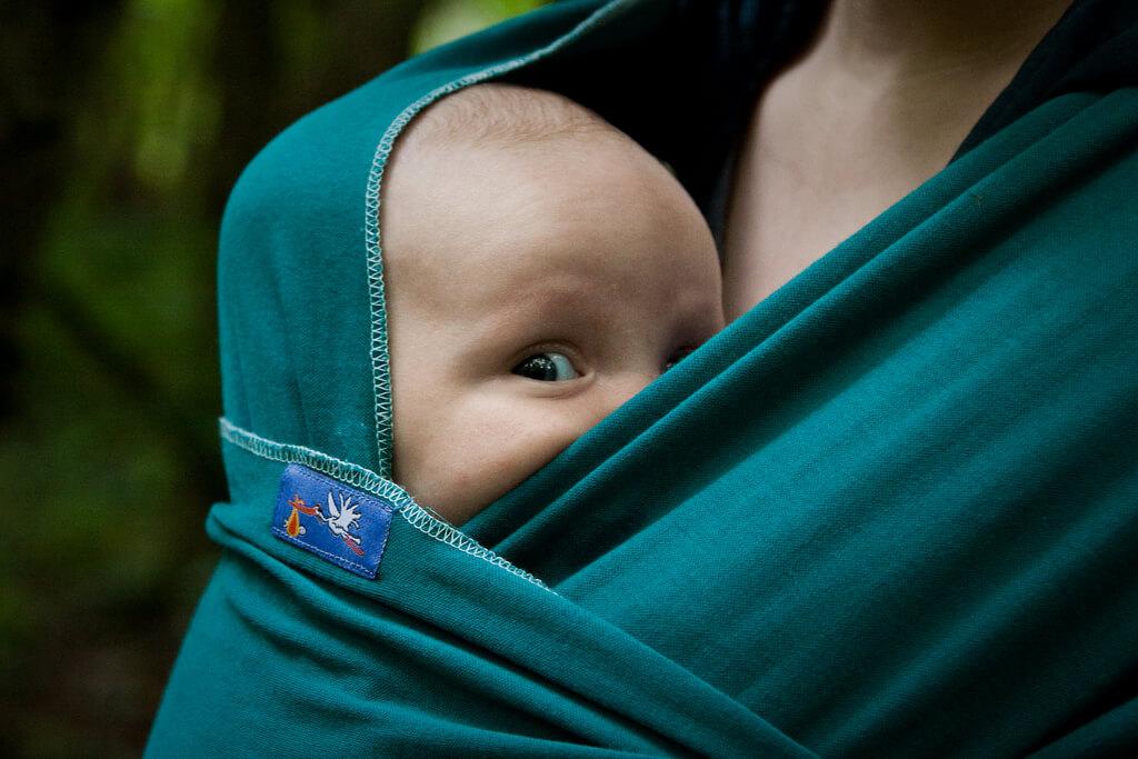 Aurimas Mikalauskas - baby in wrap