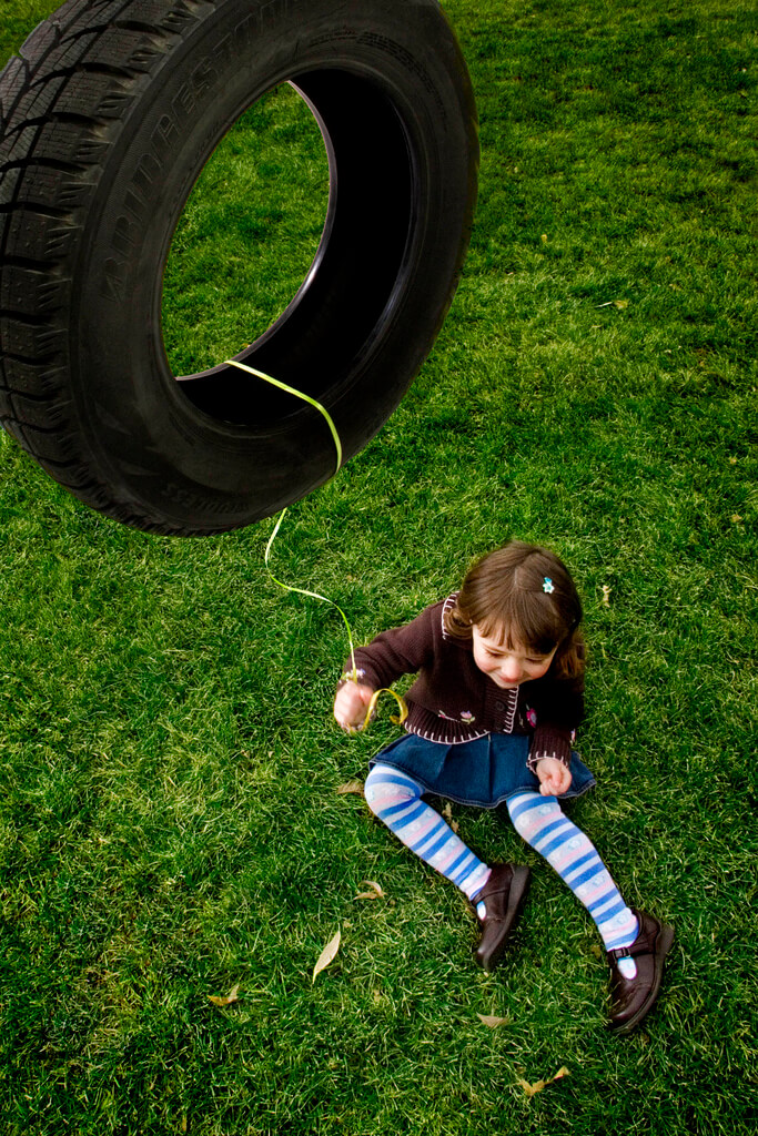 arianne leishman - tire swing