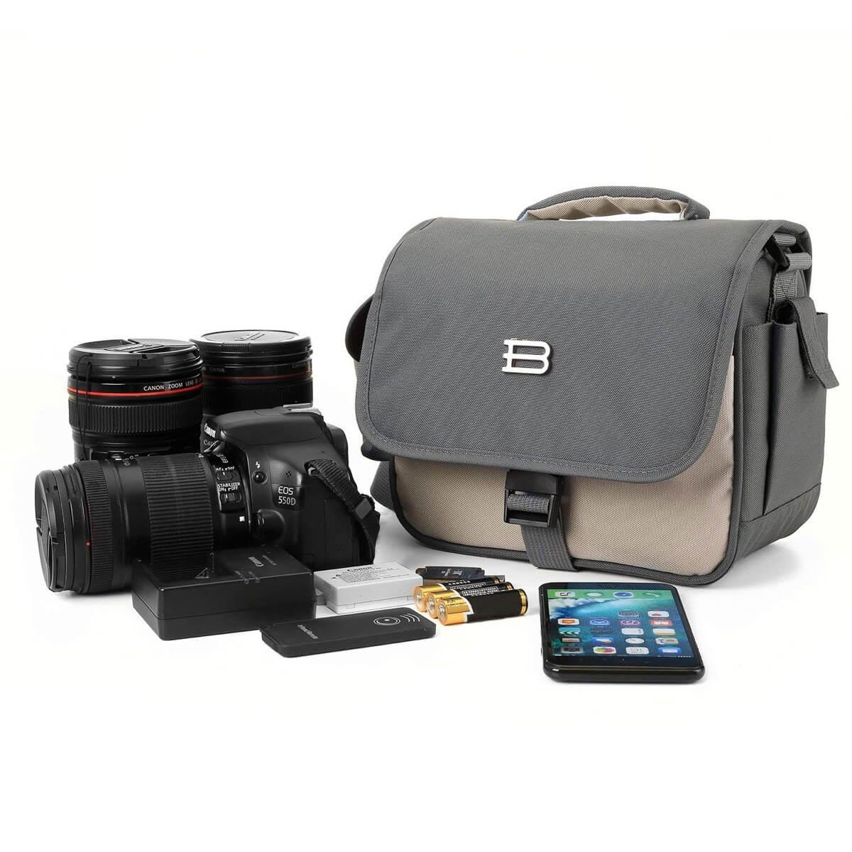 BAGSMART Digital SLR/DSLR Compact Camera Shoulder Bag