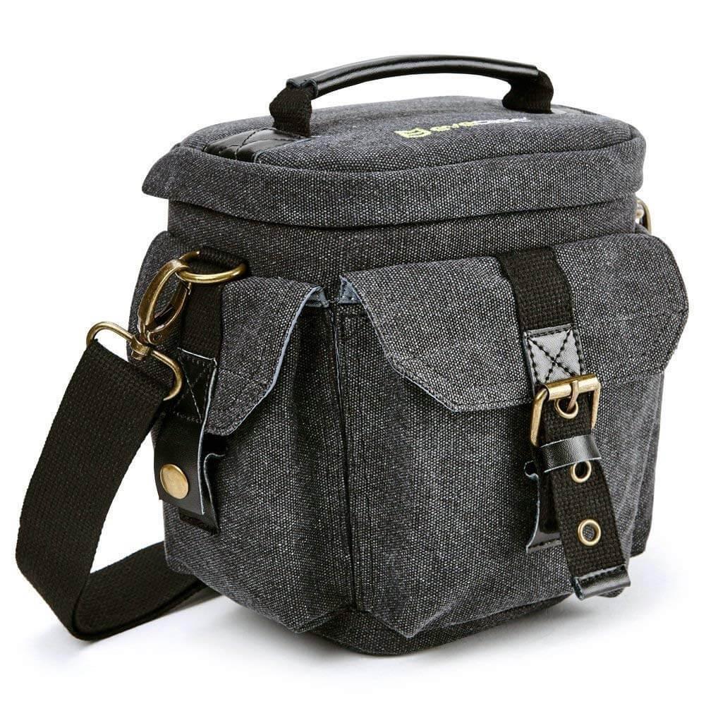 Camera Bag Evecase Compact DSLR/SLR Digital Camera Holster