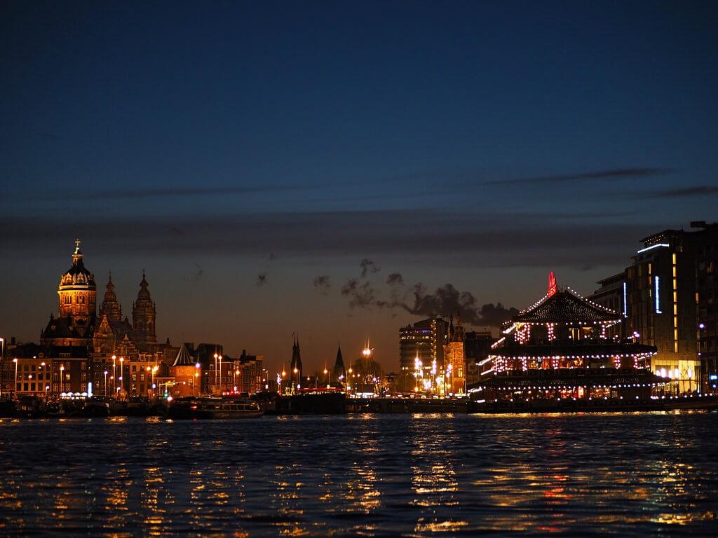 b k - Amsterdam skyline from Oosterdok