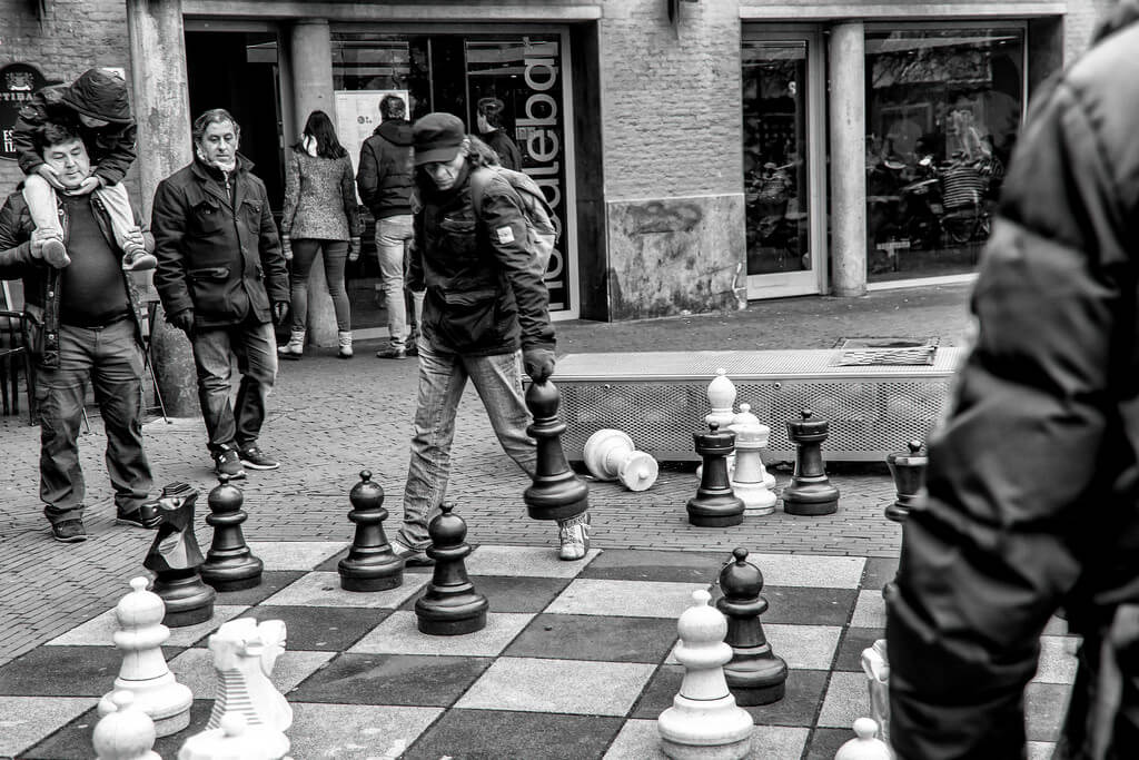 Ferry Noothout - Chess player in Amsterdam
