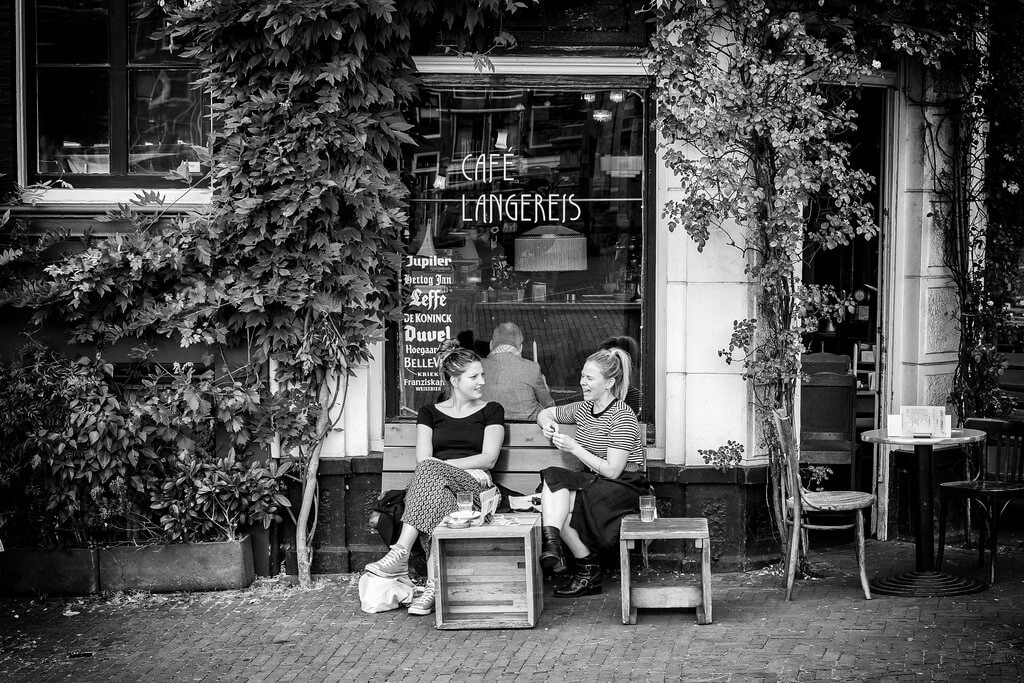 Ferry Noothout - cafe langereis Amsterdam