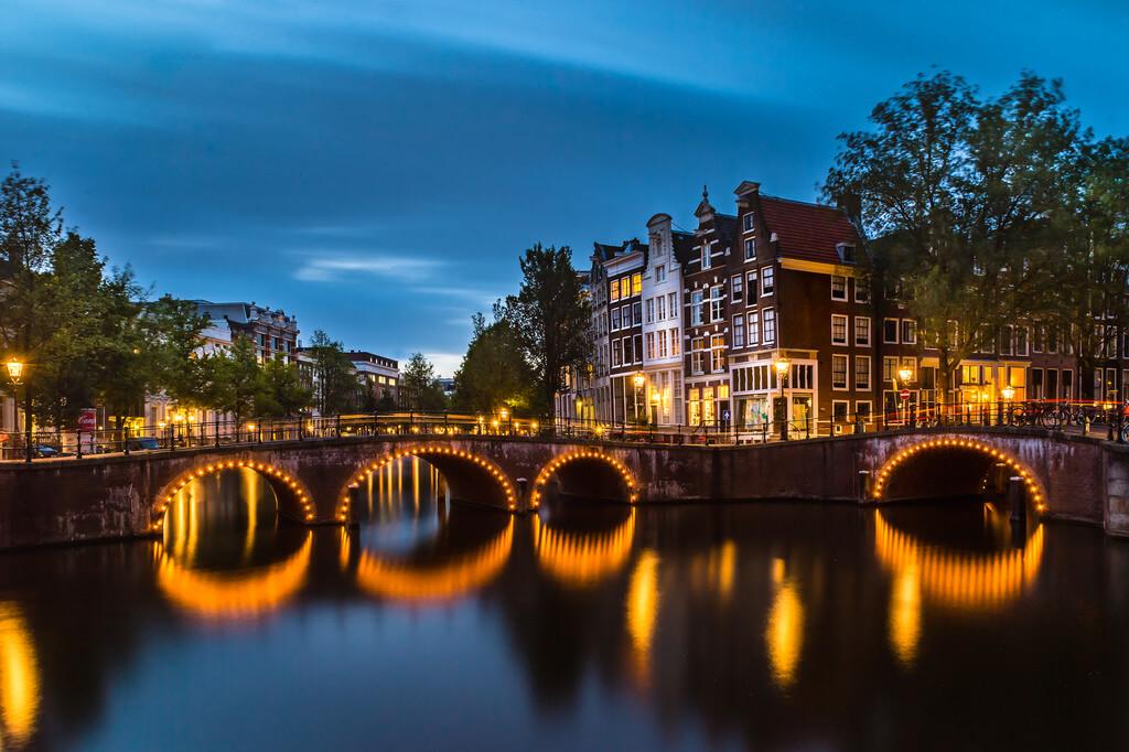 Shane Taremi - Leidsegraght Canal Bridge, Amsterdam