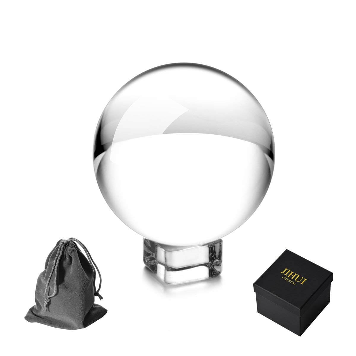 JIHUI Clear Crystal Ball 60mm