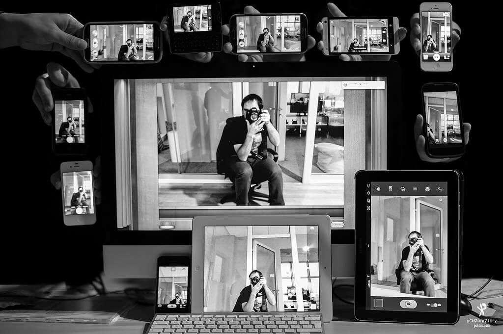 Yane Naumoski - self portrait smartphone