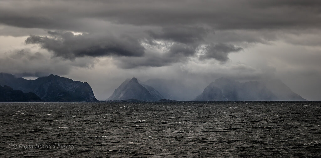 Howard Ferrier - storm Lofoten Islands