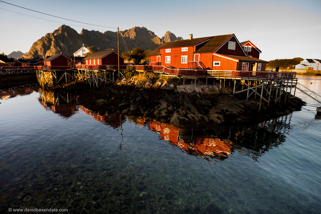 david baxendale - Henningsvaer - Lofoten Islands