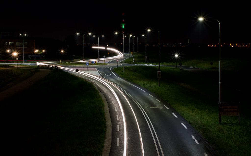 Tomasz Baranowski - Lelystad at night