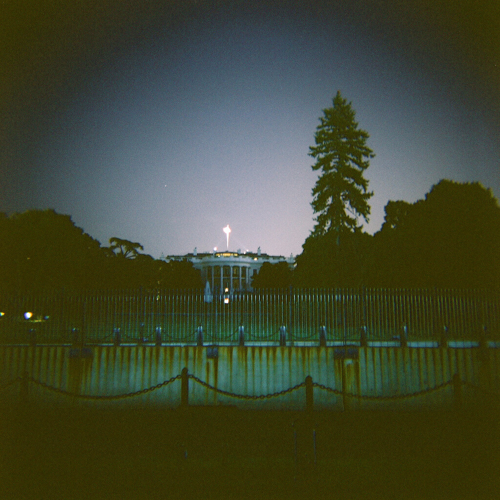 Kevin Dooley - The White House at night