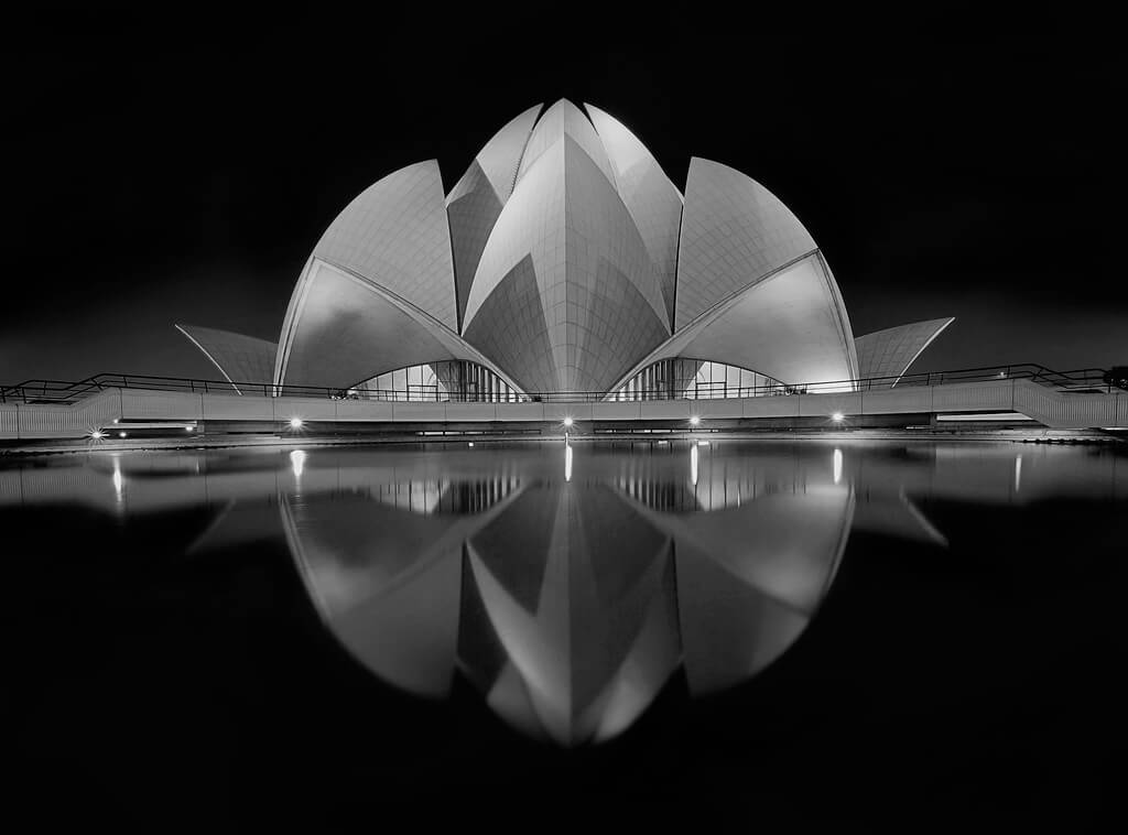 Nimit Nigam - Night Lotus Temple New Delhi