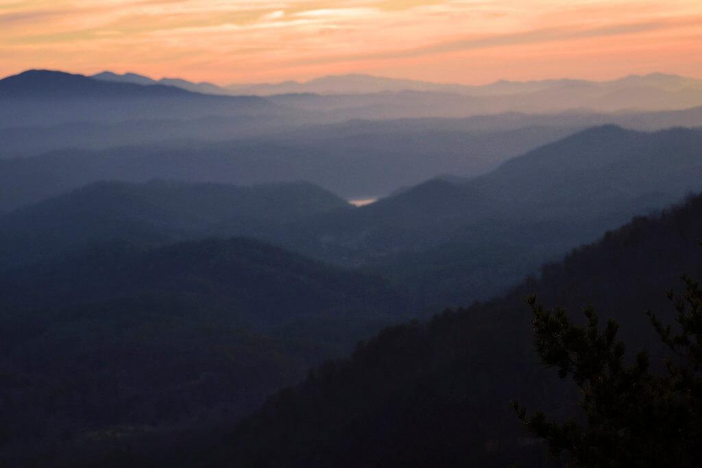 Gary Millar - sunrise Foothills Parkway