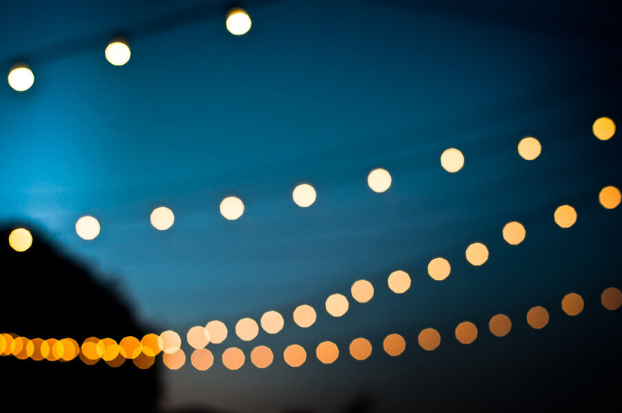 jordan parks - evening lights bokeh
