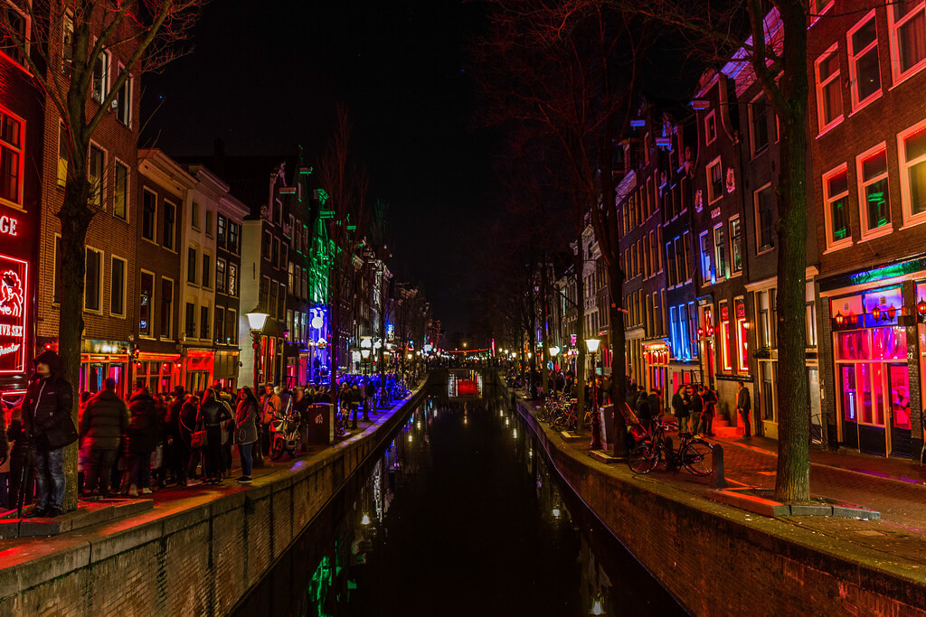 Not4rthur - Red Light District in Amsterdam