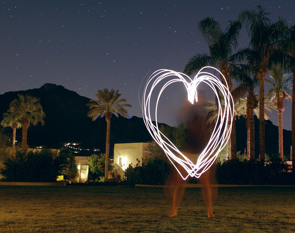 Devin Roberts - Here is a Heart light painting