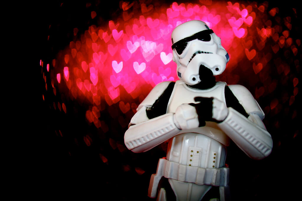 JD Hancock - stormtrooper in love