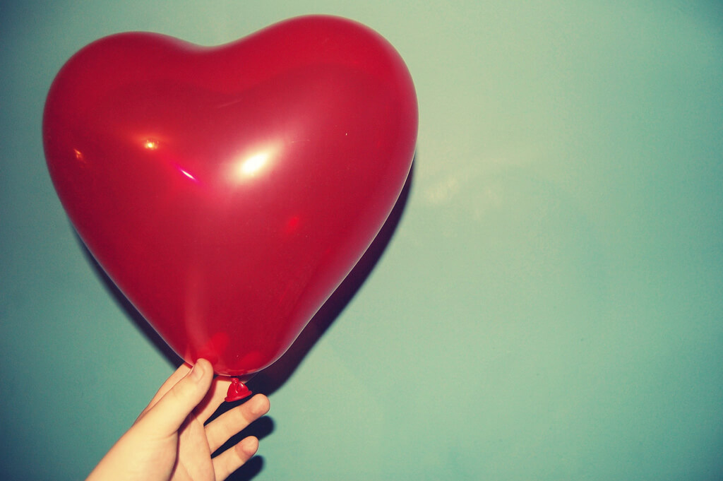 half alive - red heart balloon