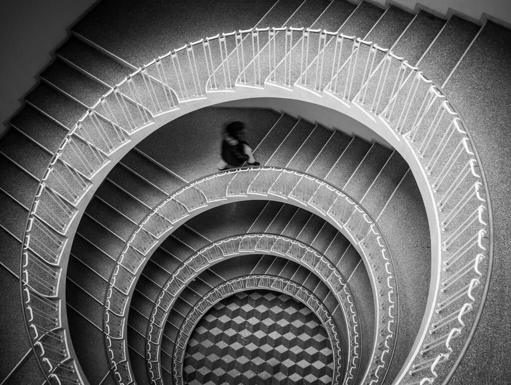 Thomas Leuthard - winding staircase