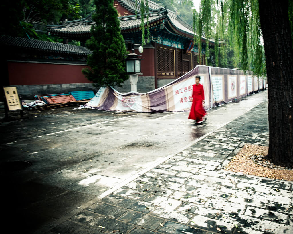 Bryon Lippincott - red dress beijing