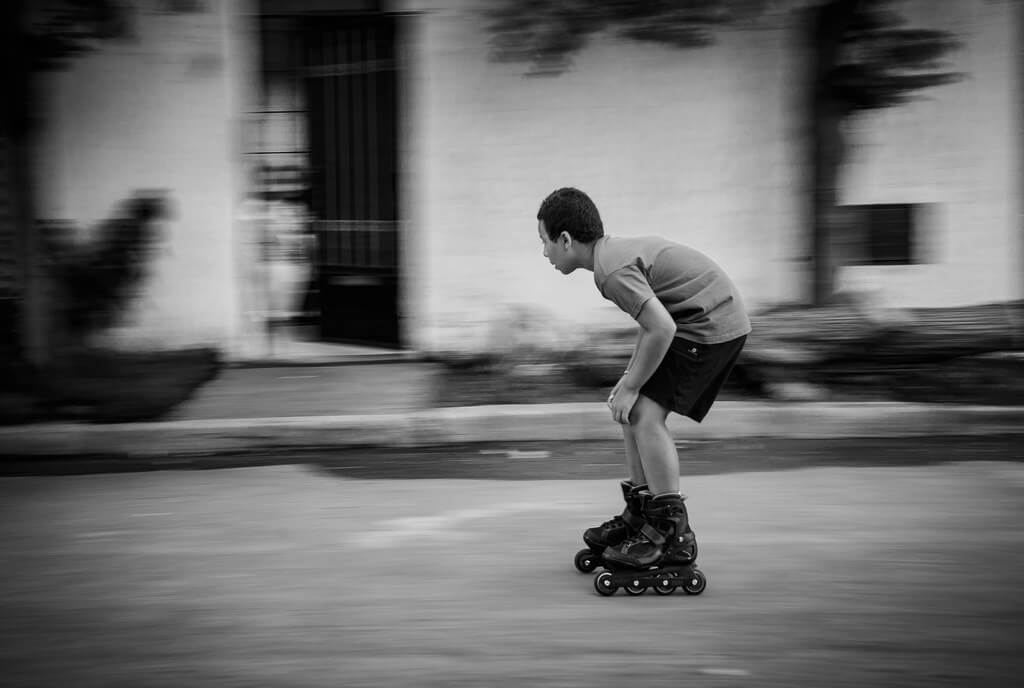 Amine Fassi - rollerblading