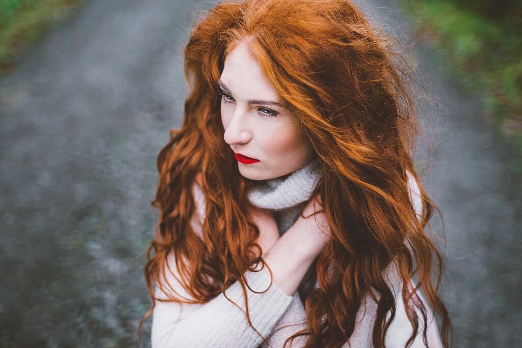 Berit Alits - long red hair