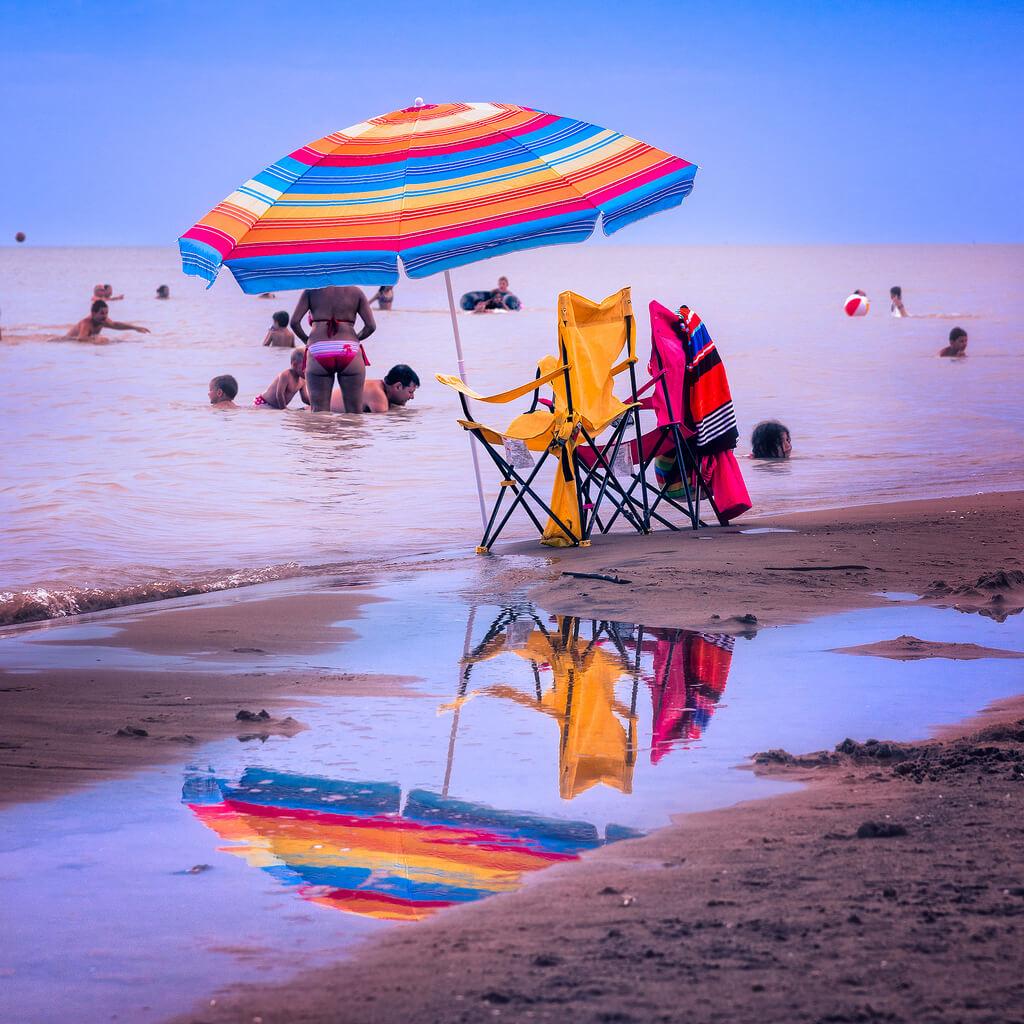 Jim Smith - beach umbrella