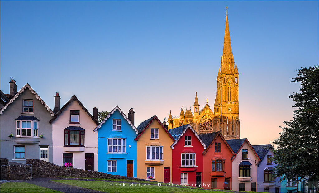 Henk Meijer Photography - Deck of Cards and St Colman's Cathedral - Cobh - Ireland