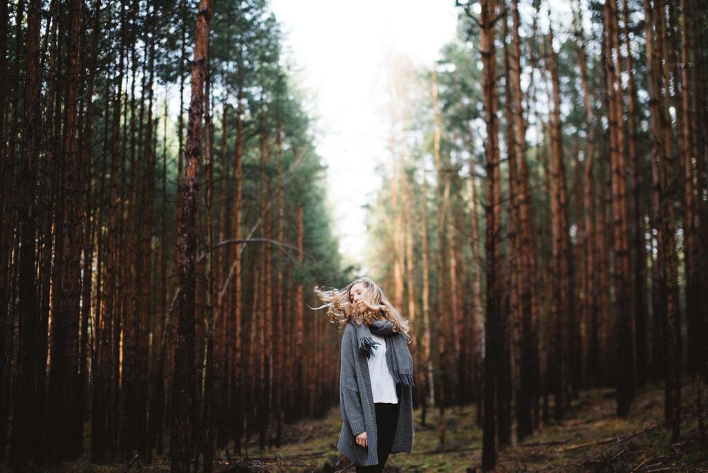 Steven Ritzer - portrait forest
