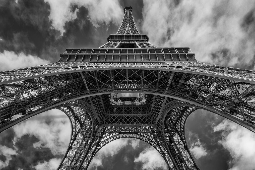 Sam Codrington - Eiffel Tower from Below
