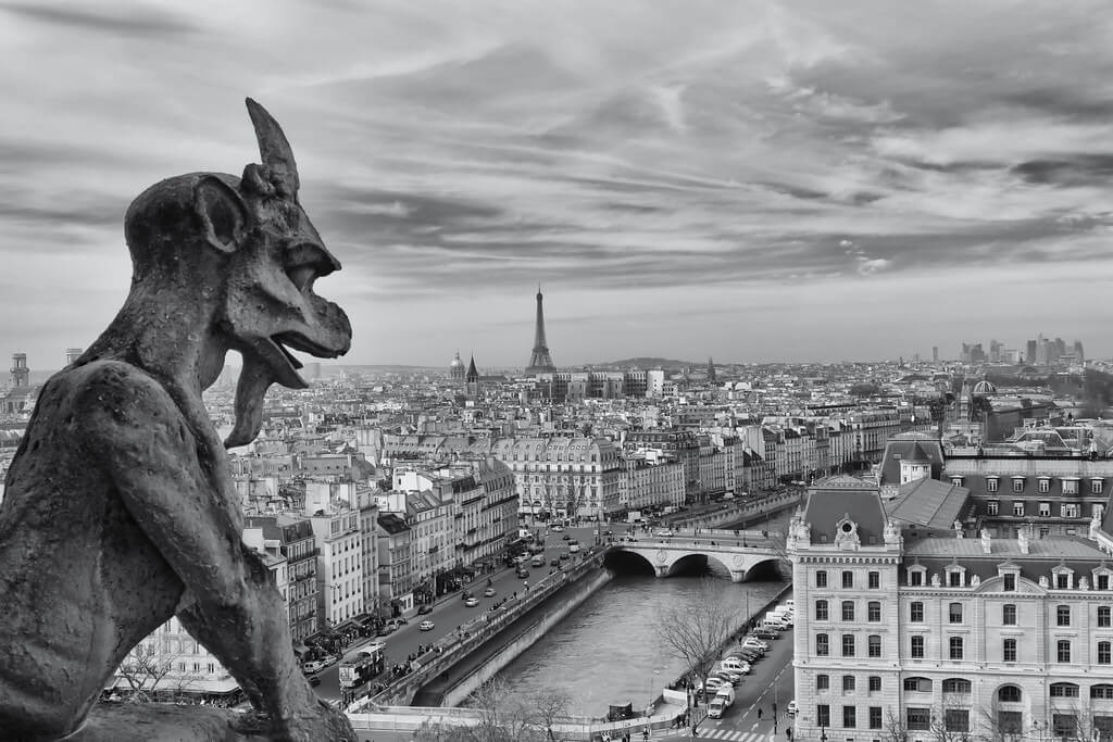 ilirjan rrumbullaku - Chimera Looking Over Paris