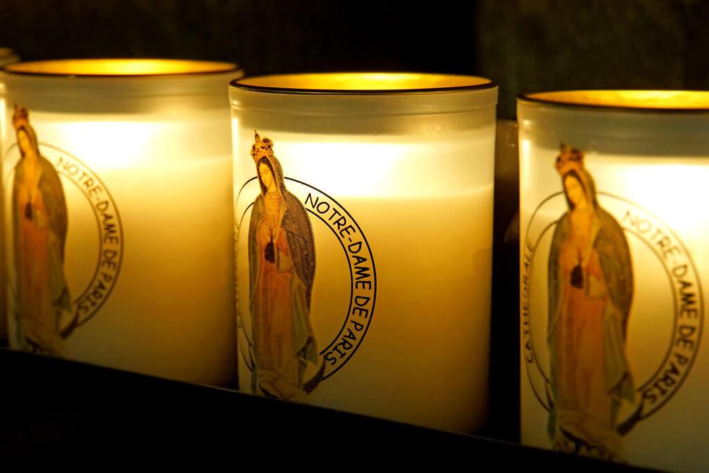 Dennis Jarvis - Candles Notre-Dame