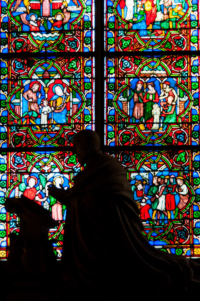 Mark Fischer - Notre-Dame Statue