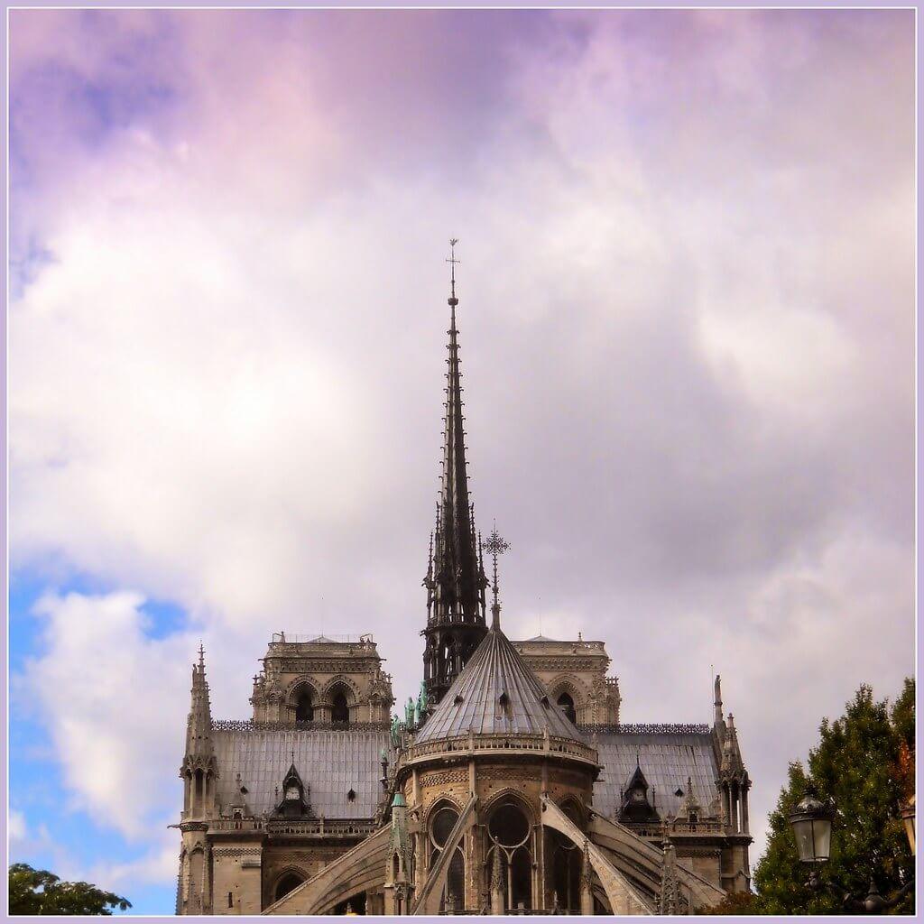 gérard - Notre-Dame Spire