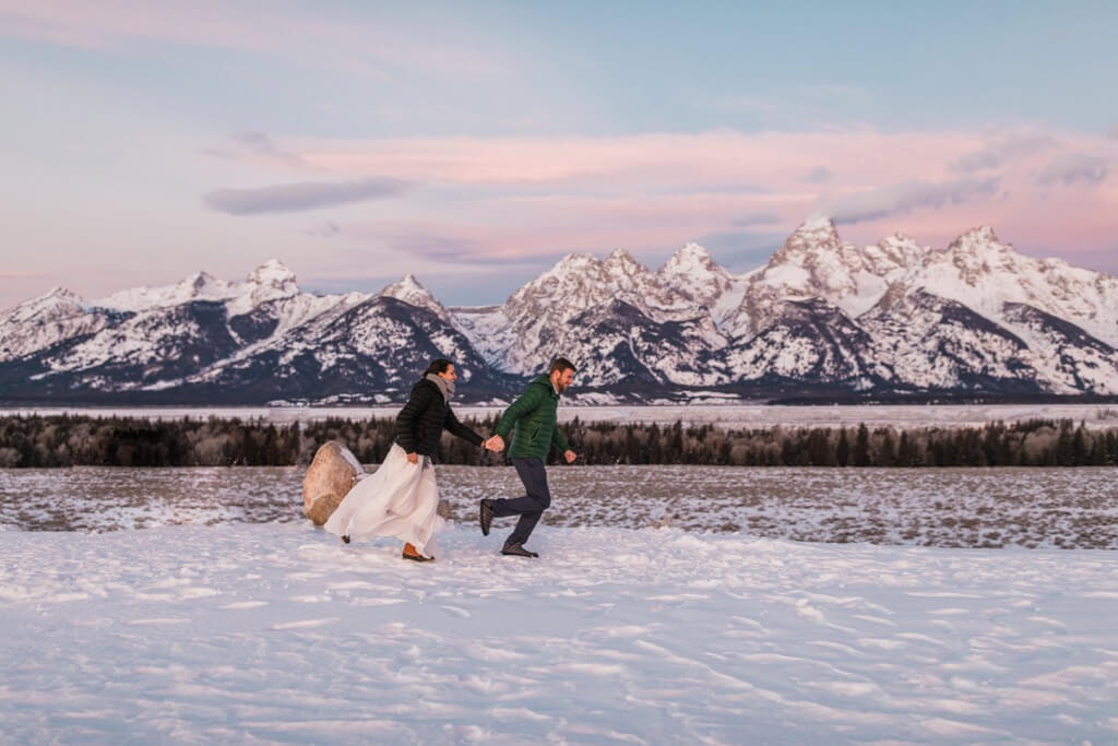 Hearnes Elopement Photography - Grand Teton National Park Jackson Hole Engagement
