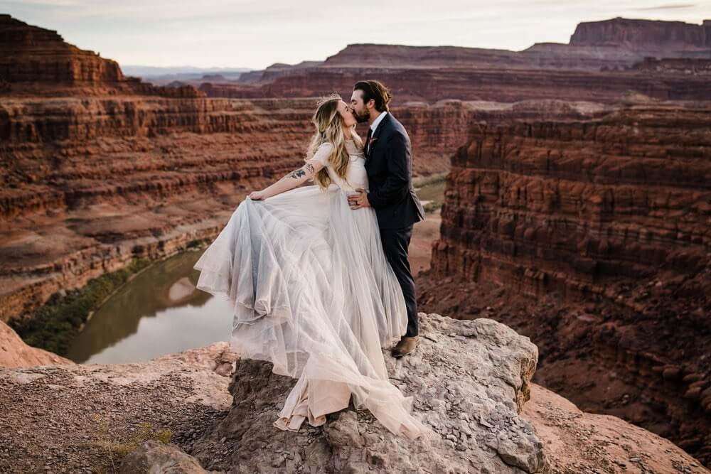 Hearnes Elopement Photography - Moab Adventure Wedding Utah