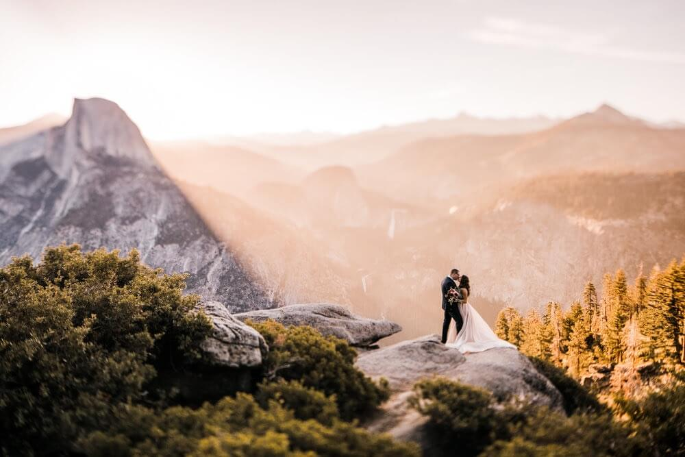 Hearnes Elopement Photography - Taft Point Glacier Yosemite National Park