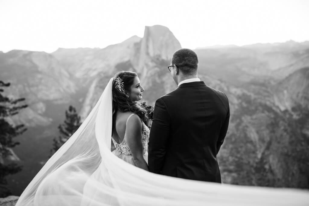 Hearnes Elopement Photography - Yosemite National Park Adventure Wedding Mountains