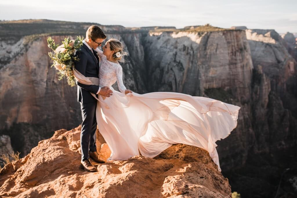 Hearnes Elopement Photography - Zion National Park Wedding
