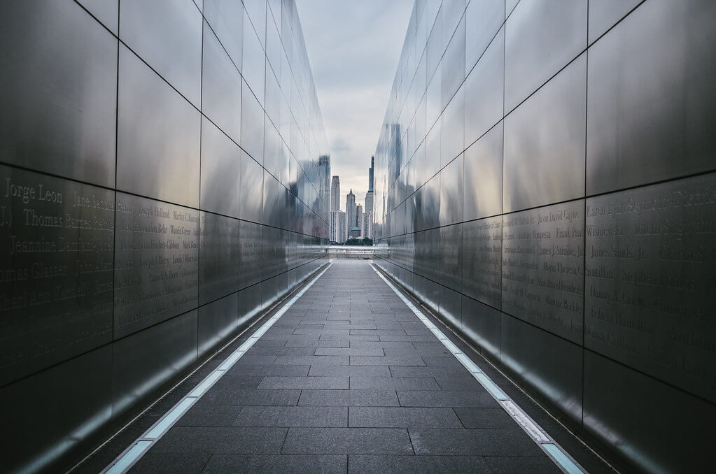 Steve Stanger - view from the 9/11 memorial (Liberty State Park, NJ)