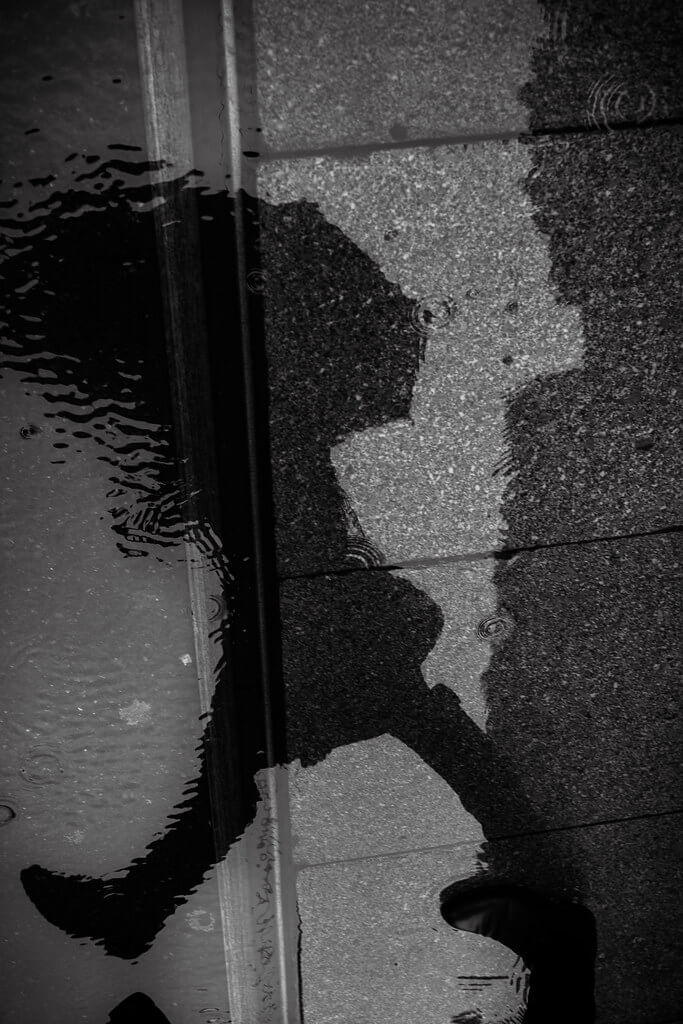 Tuncay - puddle reflection