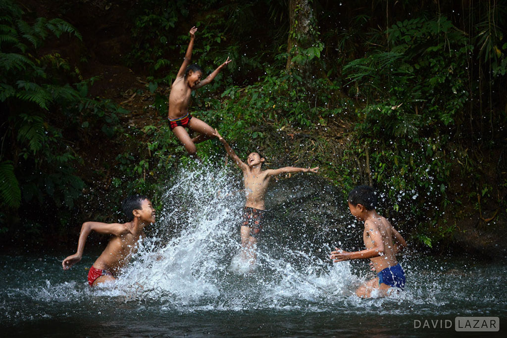 David Lazar - Jungle Swimming Hole- Central Bali