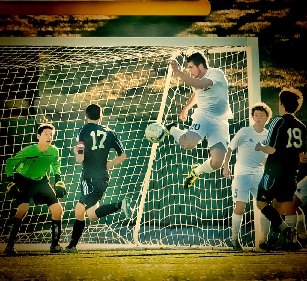 Chuck Skallerud - Soccer Goal
